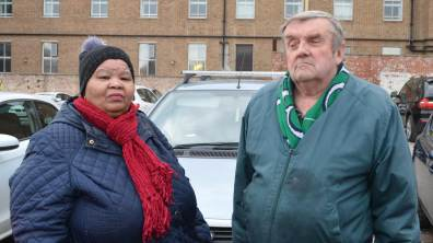 Junis Hall and her husband avoid driving to town because of the parking. Photo: Jamie Waller