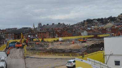 The new car park is scheduled to open in February 2018. Photo: Jamie Waller