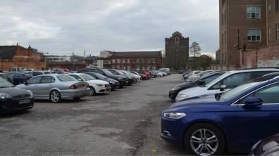 Broadgate car park. Photo: Jamie Waller