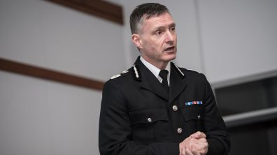 Lincolnshire Police Chief Constable Bill Skelly. Photo: Steve Smailes for The Lincolnite