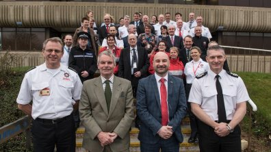 The opening of the new shared police and fire headquarters at Nettleham. Photo: Steve Smailes for The Lincolnite