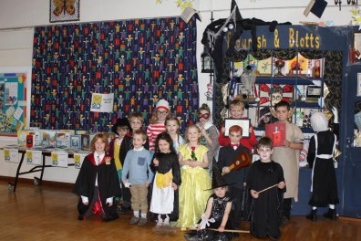 Children at Wragby Primary School