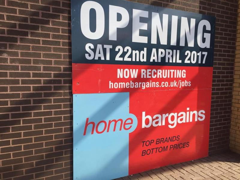 Lincoln Home Bargains To Open This Month