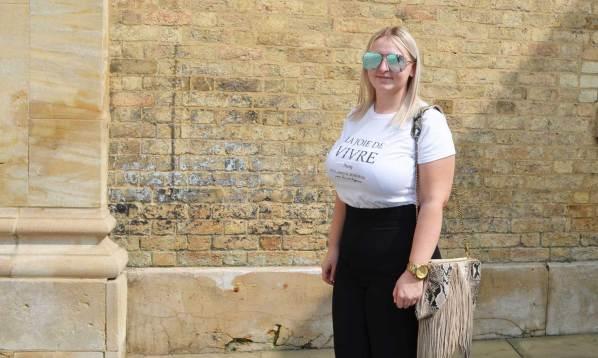 Jessica Hughton. Photo by Evie Stevenson for The lincolnite