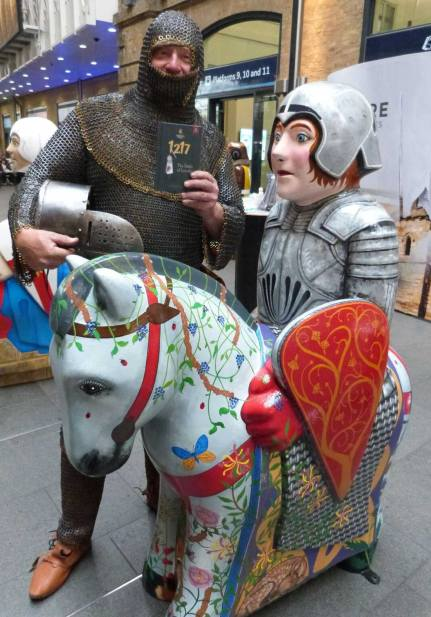 The Knights aim to promote the City of Lincoln.