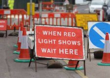 Council trials traffic lights on Canwick Hill during Washingborough Road closure
