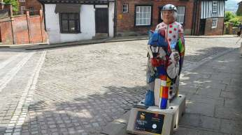 Pedal Pride Knight on Steep Hill. Photo: Evie Stevenson for The Lincolnite