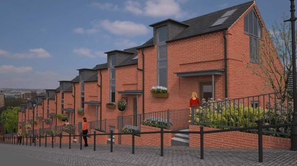 The new Motherby Hill properties will range from £214,950 to £279,950. Artist impression: Jackson & Jackson