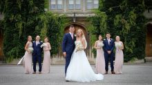 Joe and Jodie got married at Lincoln Castle on July 21