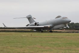 A Sentinel R1 from 5(AC) Squadron Royal Air Force returning to RAF Waddington from Operation Shader, the Counter-Daesh mission. Photo: Cpl Simon Armstrong/RAF