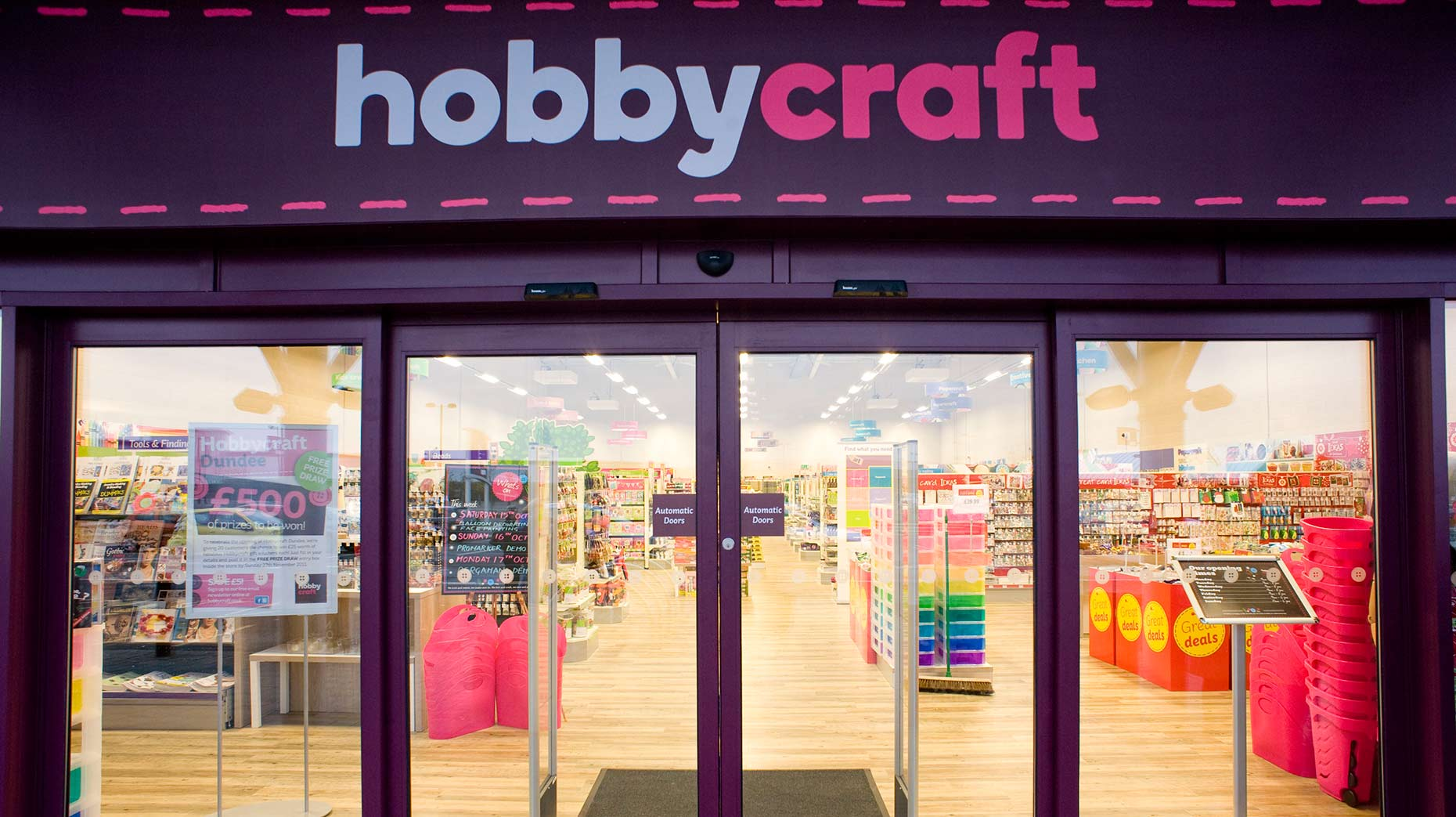 Arts Retailer Hobbycraft Looking To Open First Lincoln Store