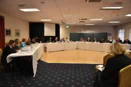 The Lincolnshire West CCG governing body meeting held on September 27. Photo: Steve Smailes for The Lincolnite
