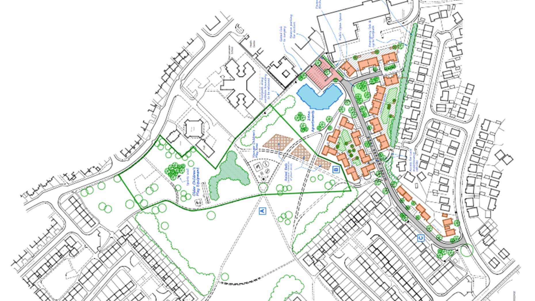Birchwood group submits plans for 62 affordable homes
