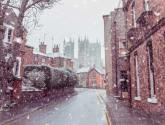 Your pictures of beautiful snowy Lincoln