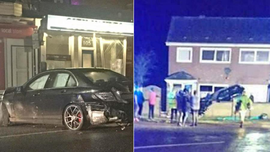 Two In One Night Cars Crash Into Lincoln Pub And North Hykeham Home