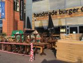 Lincoln Handmade Burger restaurant closed for refurb