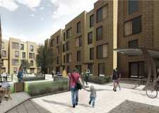 Work begins on Valentine Court student homes