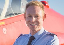 Red Arrows pay tribute to engineer killed in jet crash