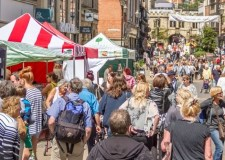 Array of Lincoln Bank Holiday markets