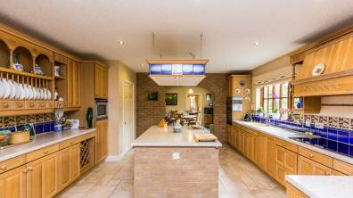 Stunning kitchen at this Heighington home. Photo: Mundys
