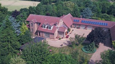 Six-bedroomed detached house in Heighington. Photo: Mundys