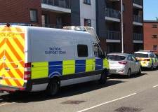 Police arrest 'armed' man in Lincoln raid