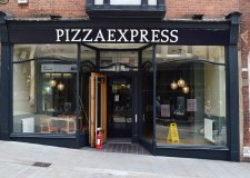 Why Pizza Express was closed
