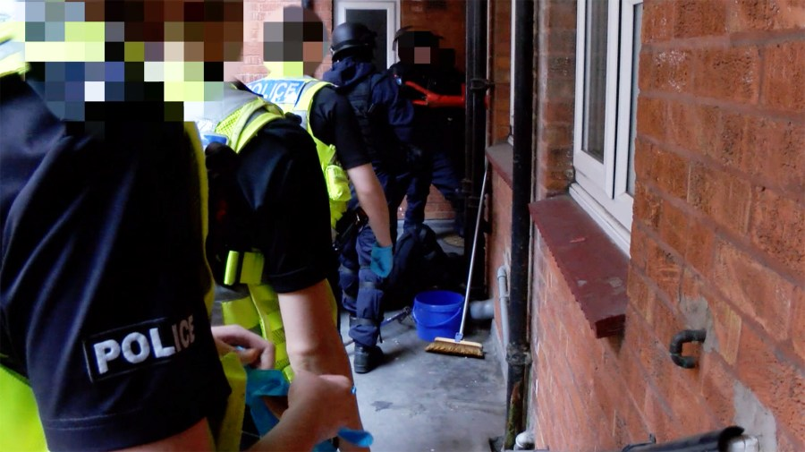 Man charged after Lincoln drugs raid