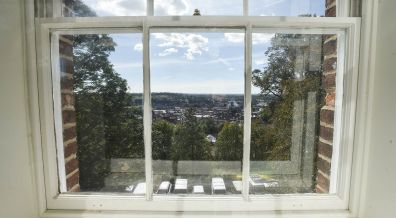 The view from one of the south facing windows. Photo: Steve Smailes for The Lincolnite