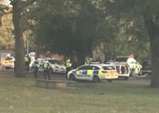 Man released after armed police operation