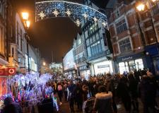 Festive fun: Lincoln Christmas lights switch-on this Friday