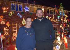 The heartwarming reason this house is aglow with Christmas lights