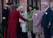 Princess Anne opens new Linkage education centre