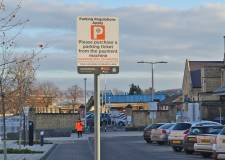 Careful or you'll get a £100 fine! New parking operator at Lincoln train station