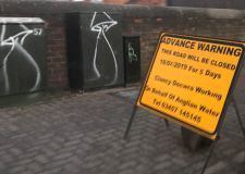 Manhole roadworks cause High Street disruption