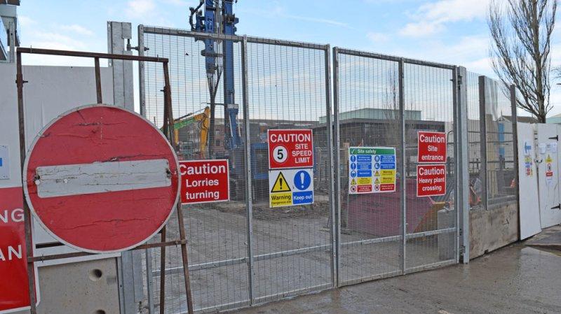 Brayford footbridge works delayed    again?
