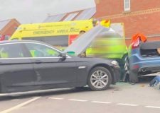 Delays after person injured in Lincoln crash