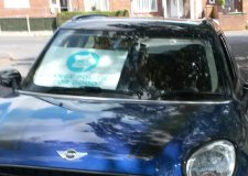 Woman clipped by car in Lincoln polling station fracas