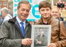 Nigel Farage  returning to Lincoln for Brexit rally