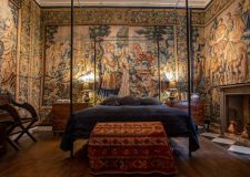 Film follows careful restoration of 17th century Doddington Hall tapestries