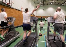 Lincoln inmates smash gruelling million metre gym challenge for charity