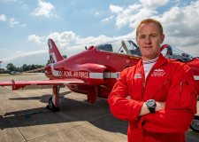 Red Arrows pilot warns against reckless plane spotters at RAF Scampton