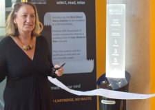 Introducing Lincoln's first poetry vending machine