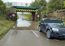 Council explains why Potterhanworth bridge still flooded after several weeks