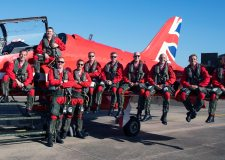 Emotional Red Arrows return after huge North American tour