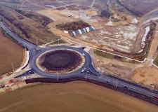 Lincoln Eastern Bypass Greetwell roundabout now open to drivers