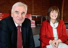 Lincolnshire hospitals 'underfunded', says John McDonnell in Lincoln visit