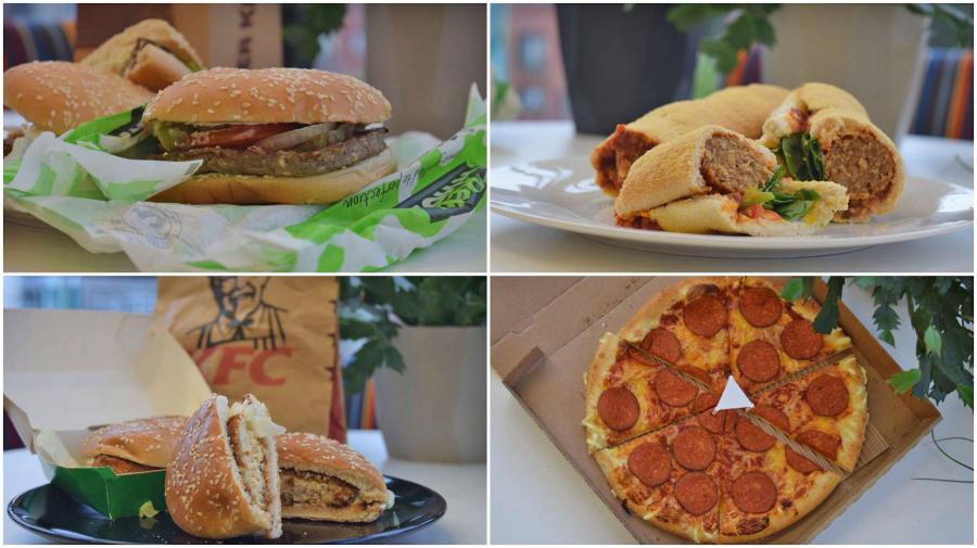 The Lincolnite Taste Test New Vegan Treats From Kfc Subway