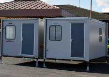 Lincoln hospital Coronavirus tent replaced with two portakabins