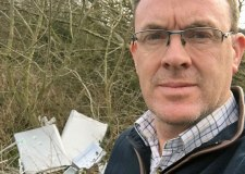 The last straw: Lincoln farmer wages war on fly-tippers